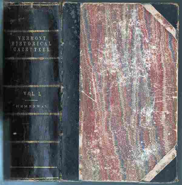 The Vermont Historical Gazetteer