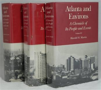 Atlanta & Environs: A Chronicle of Its People & Events