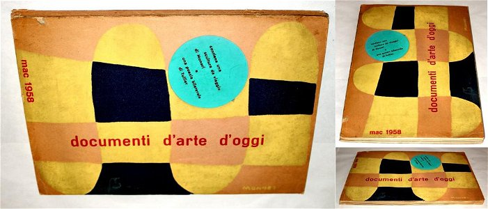 Documenti d'arte d'oggi, 1958