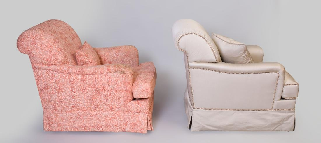 Two Upholstered Club Chairs - 3