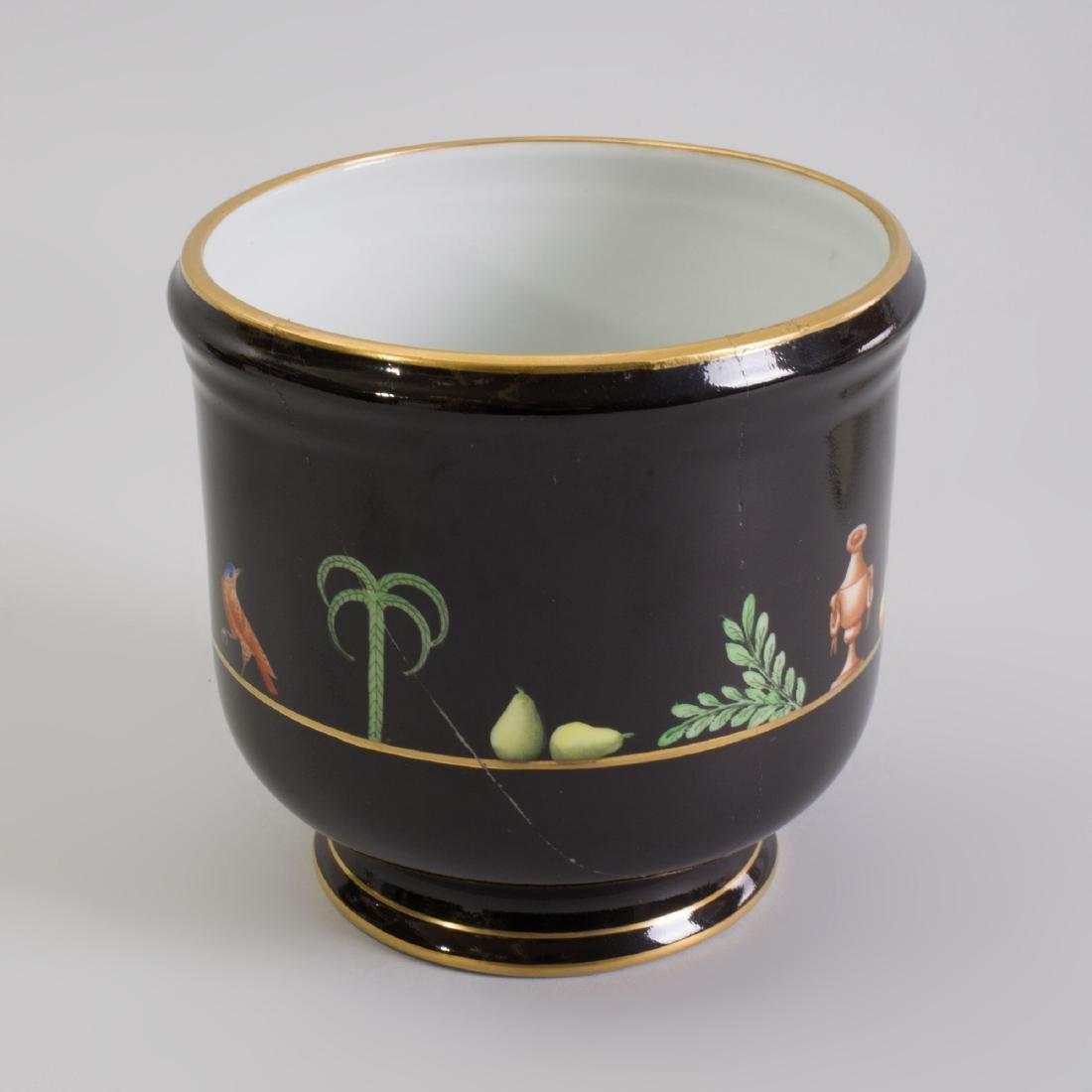 Pair of Tiffany Porcelain Cache Pots - 3