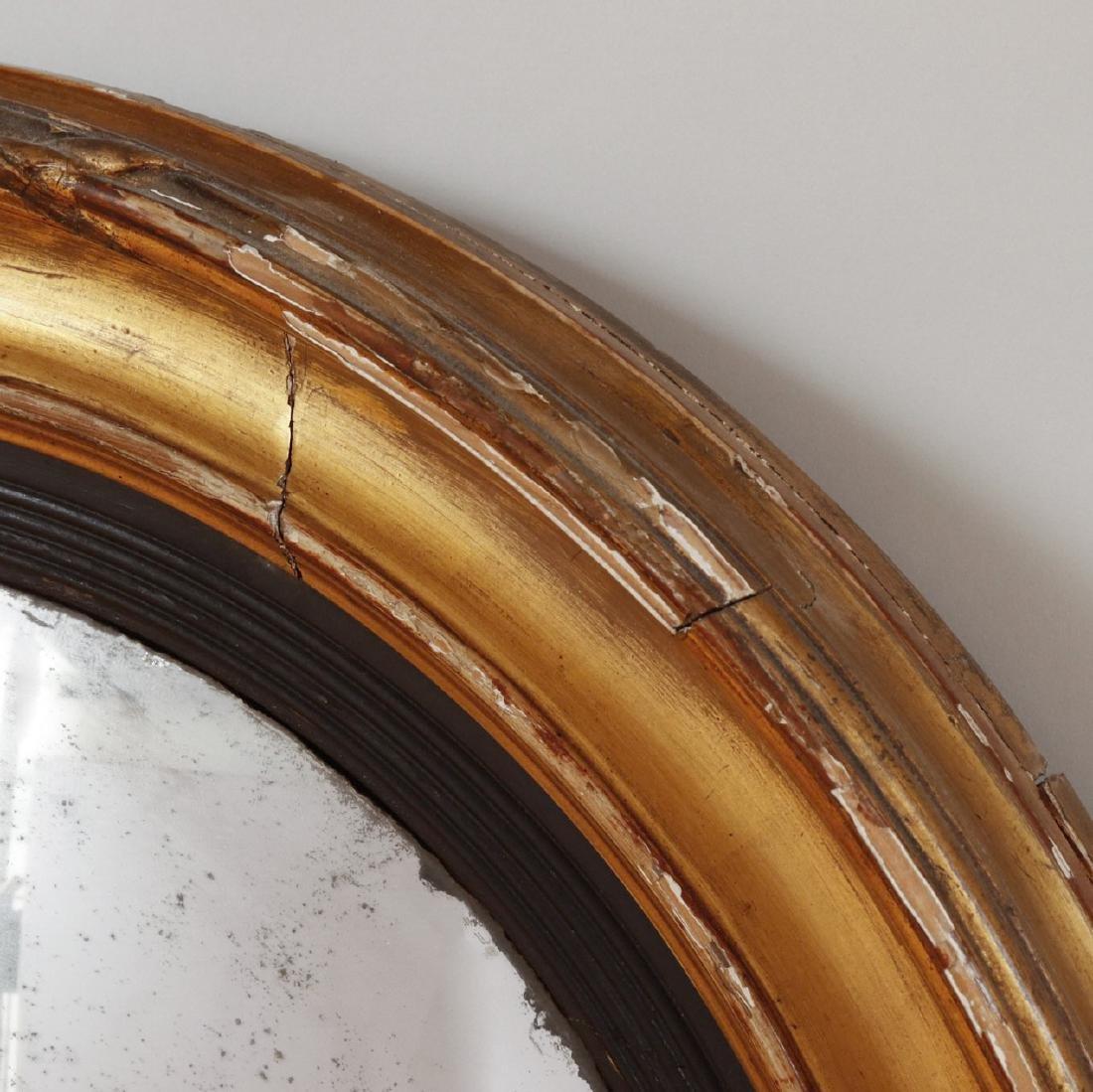 Regency Giltwood Convex Mirror - 2