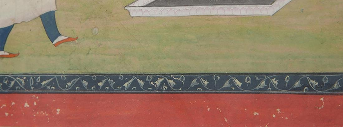 Indian School: Courtyard Scene - 3