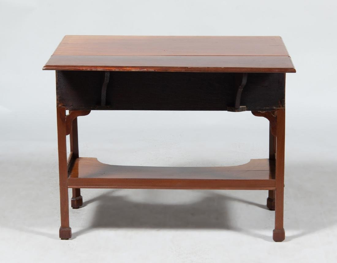 Fruitwood Drop Leaf Writing Desk - 3