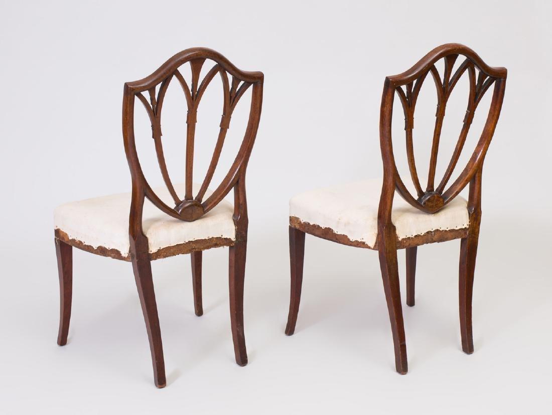 Pair of George III Mahogany Side Chairs - 3