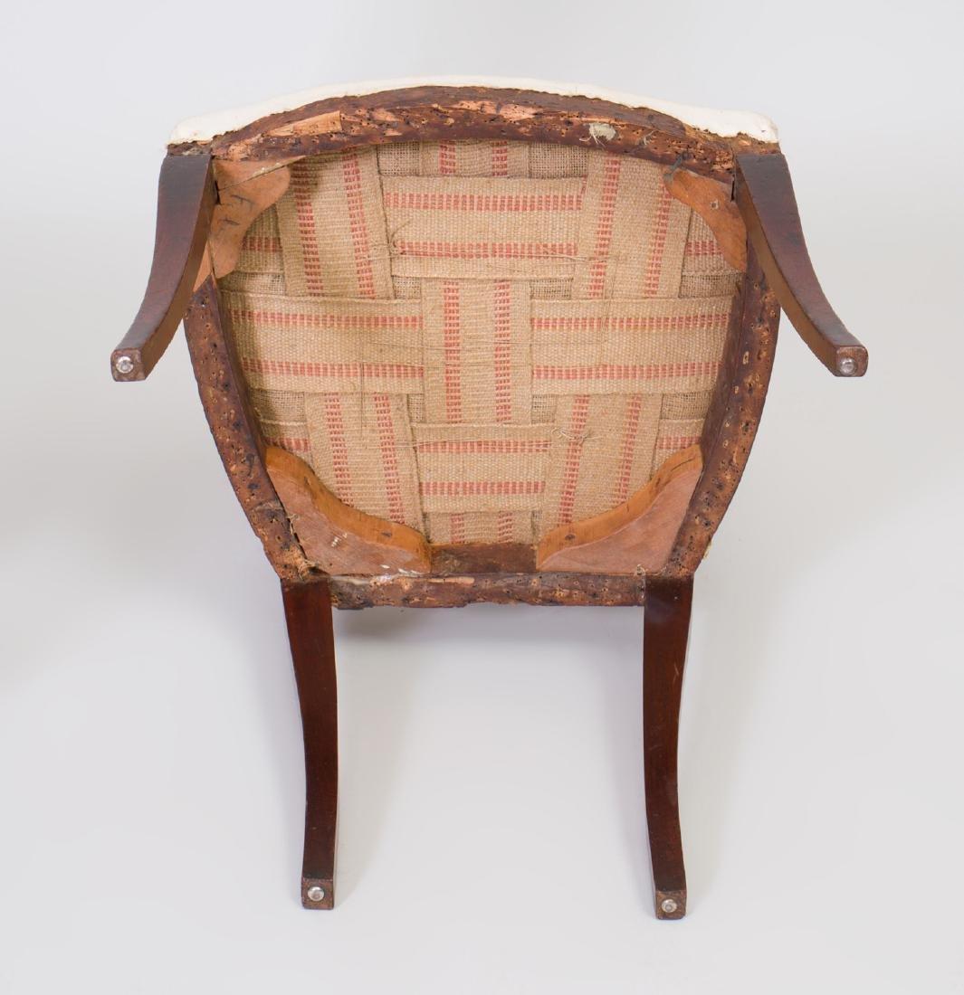 Pair of George III Mahogany Side Chairs - 4