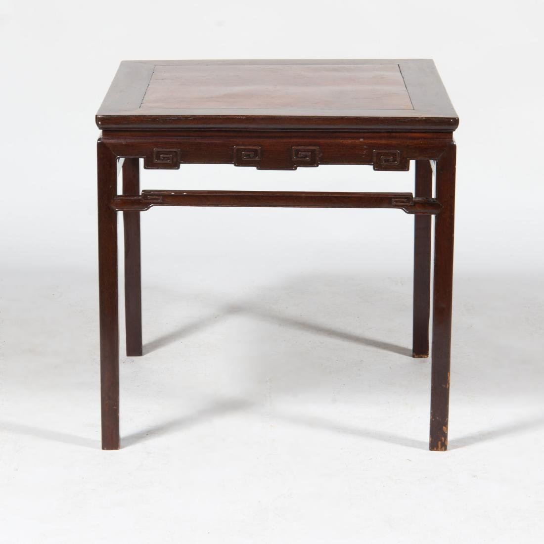 Chinese Rosewood Center Table