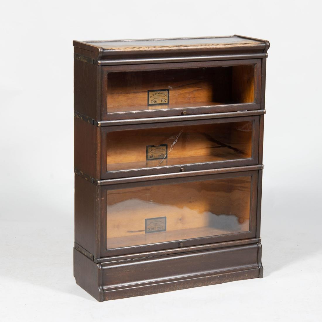 Small Oak Barrister Bookcase