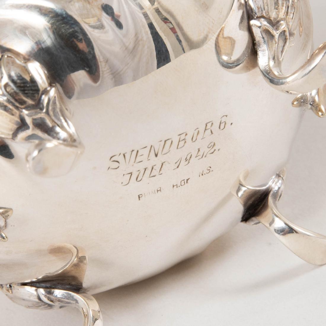 Swedish Silver Plate Three Piece Coffee Service - 3