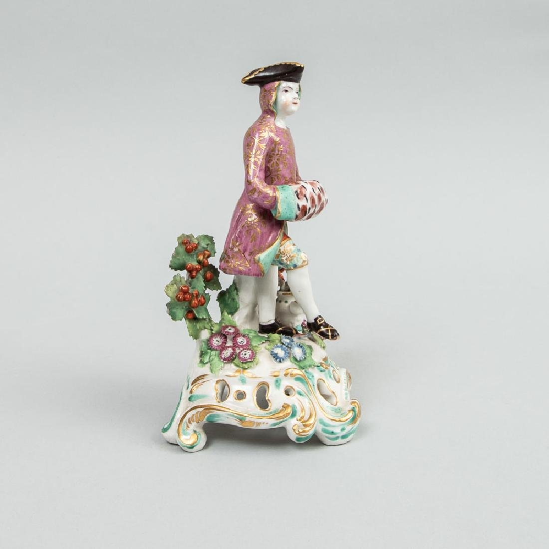 Chelsea Porcelain Figure Emblematic of Winter - 2
