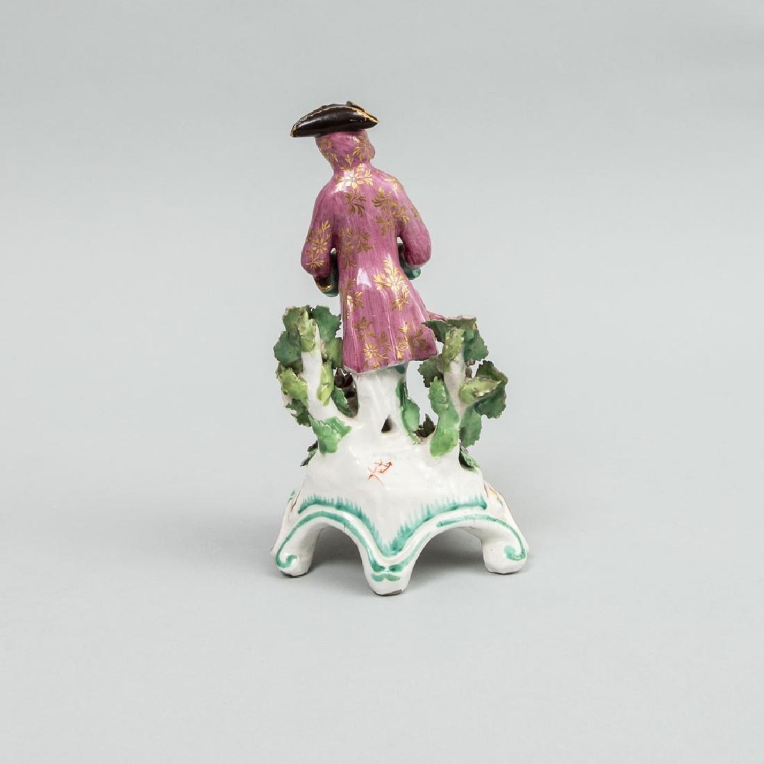 Chelsea Porcelain Figure Emblematic of Winter - 3