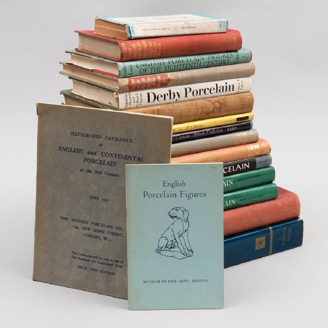 Group of Seventeen English and Export Porcelain Books - 2