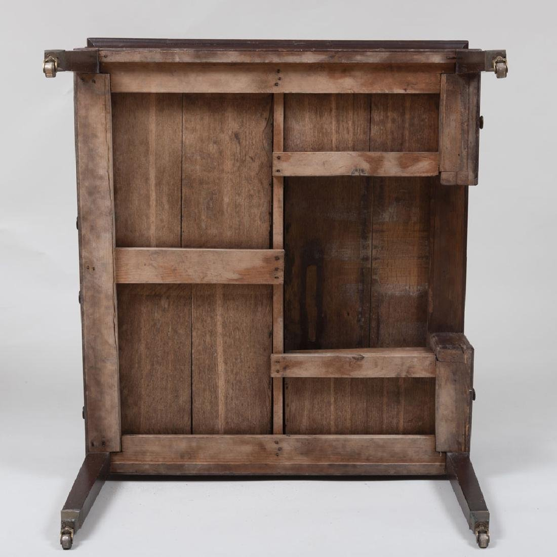 Late George III Mahogany Partner's Desk - 9