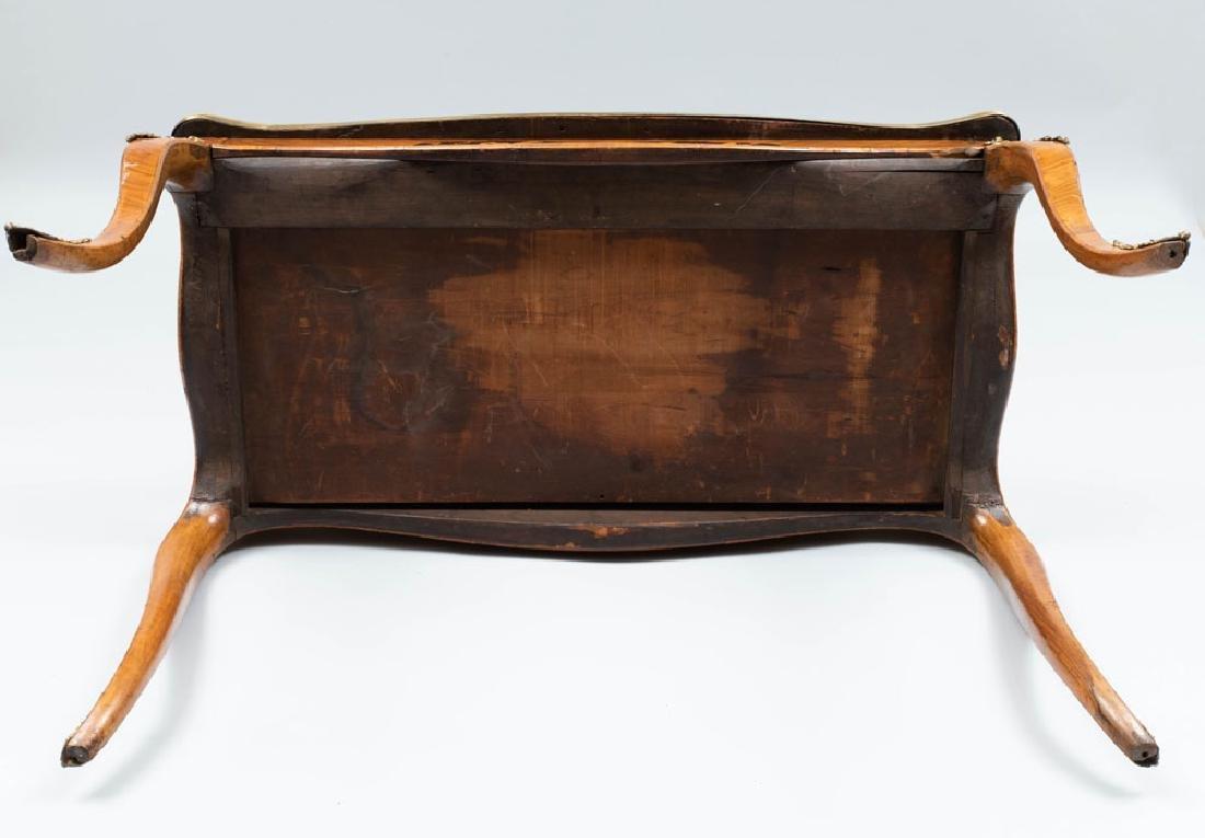 Victorian Gilt-Metal-Mounted Walnut, Ebony and - 6