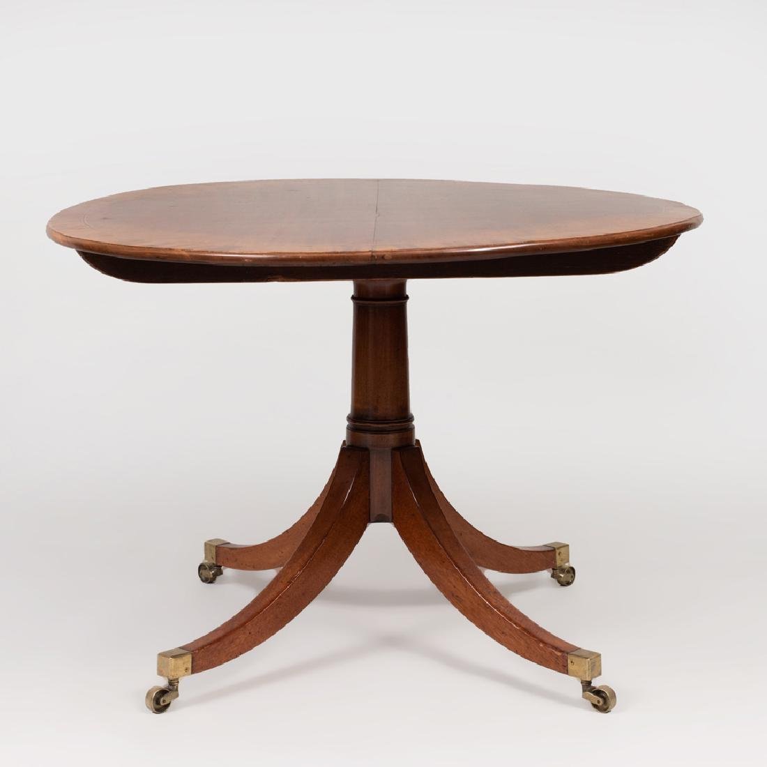 Regency Style Mahogany, Ebony and Boxwood Strung - 3