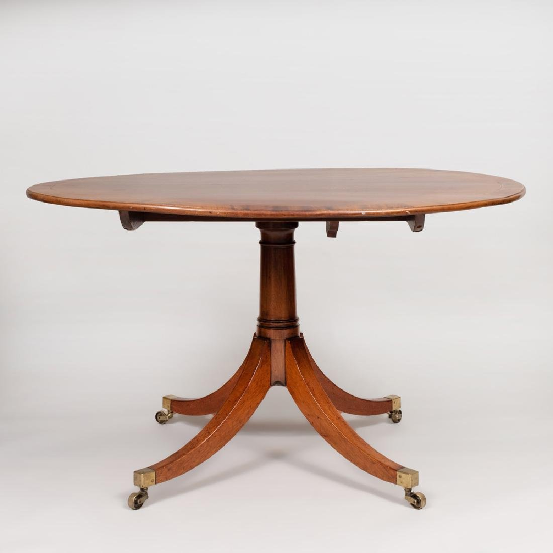 Regency Style Mahogany, Ebony and Boxwood Strung - 4