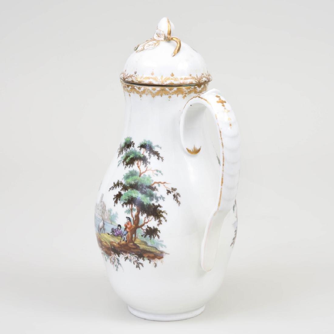 Royal Copenhagen Porcelain Coffee Pot and Cover - 3