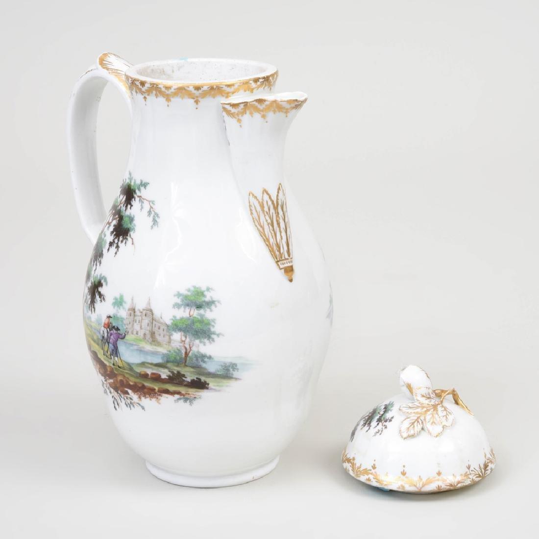 Royal Copenhagen Porcelain Coffee Pot and Cover - 5