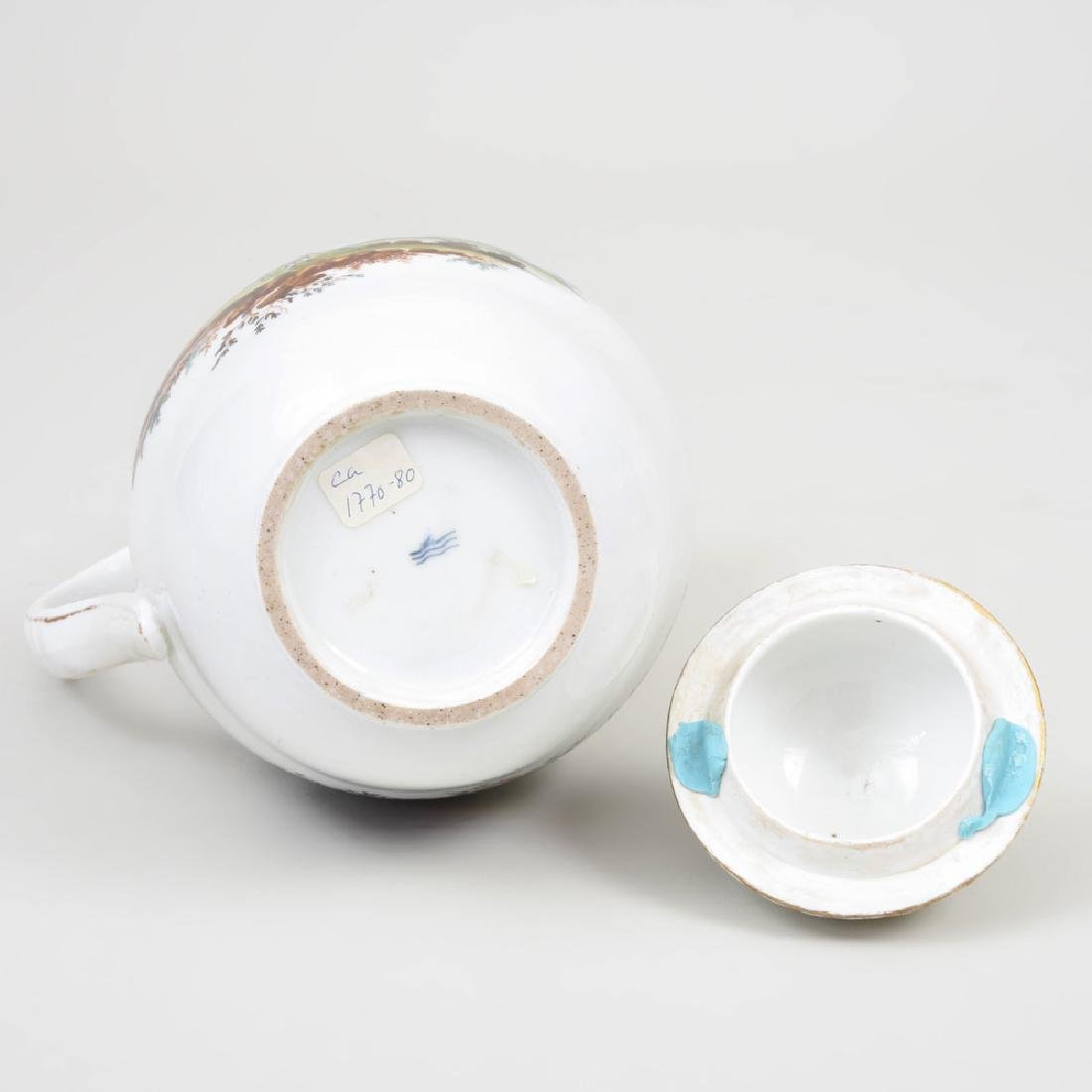 Royal Copenhagen Porcelain Coffee Pot and Cover - 6