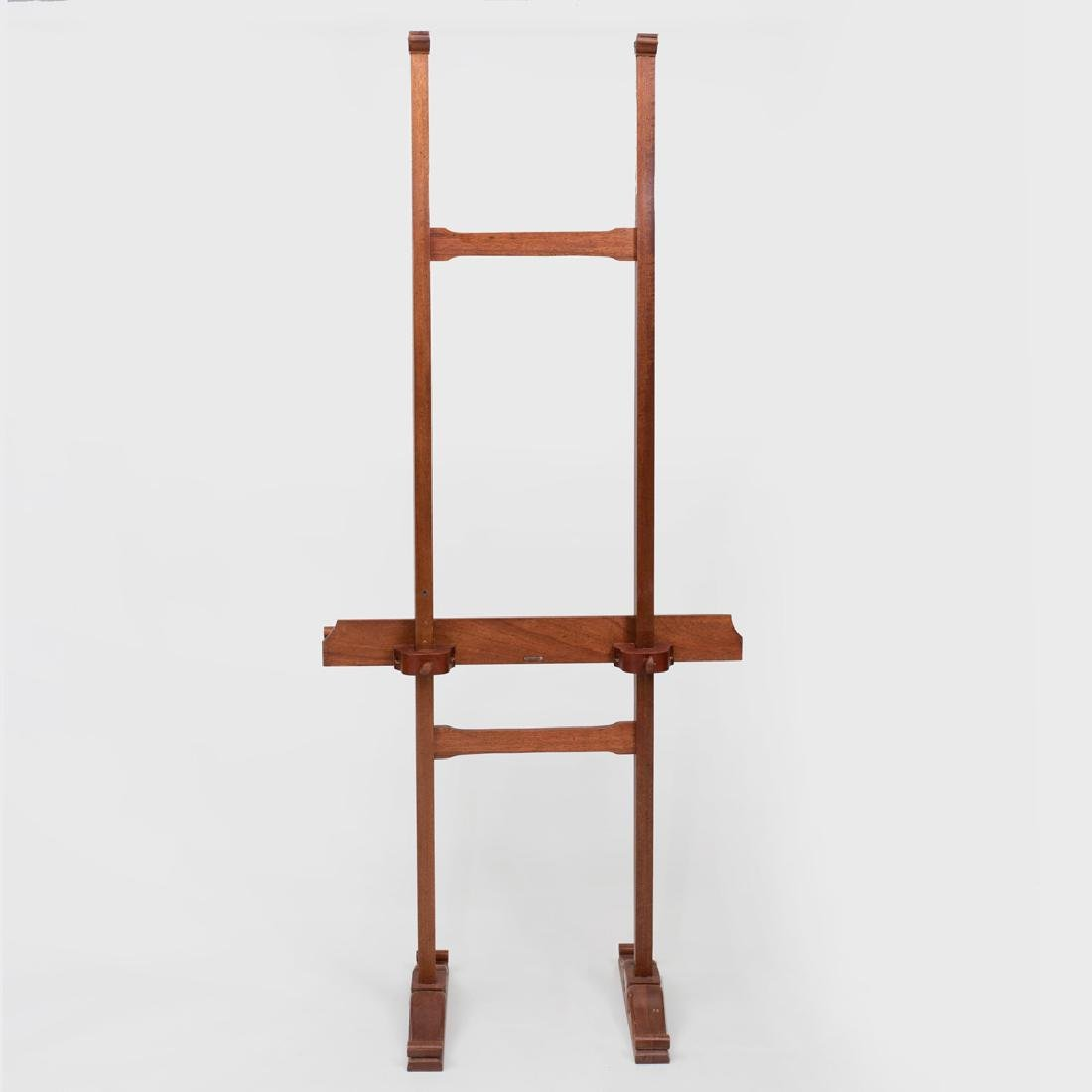 Victorian Style Walnut Easel - 3