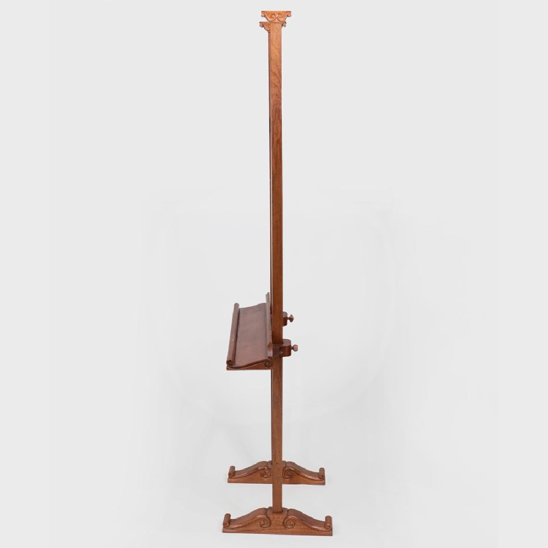 Victorian Style Walnut Easel - 7