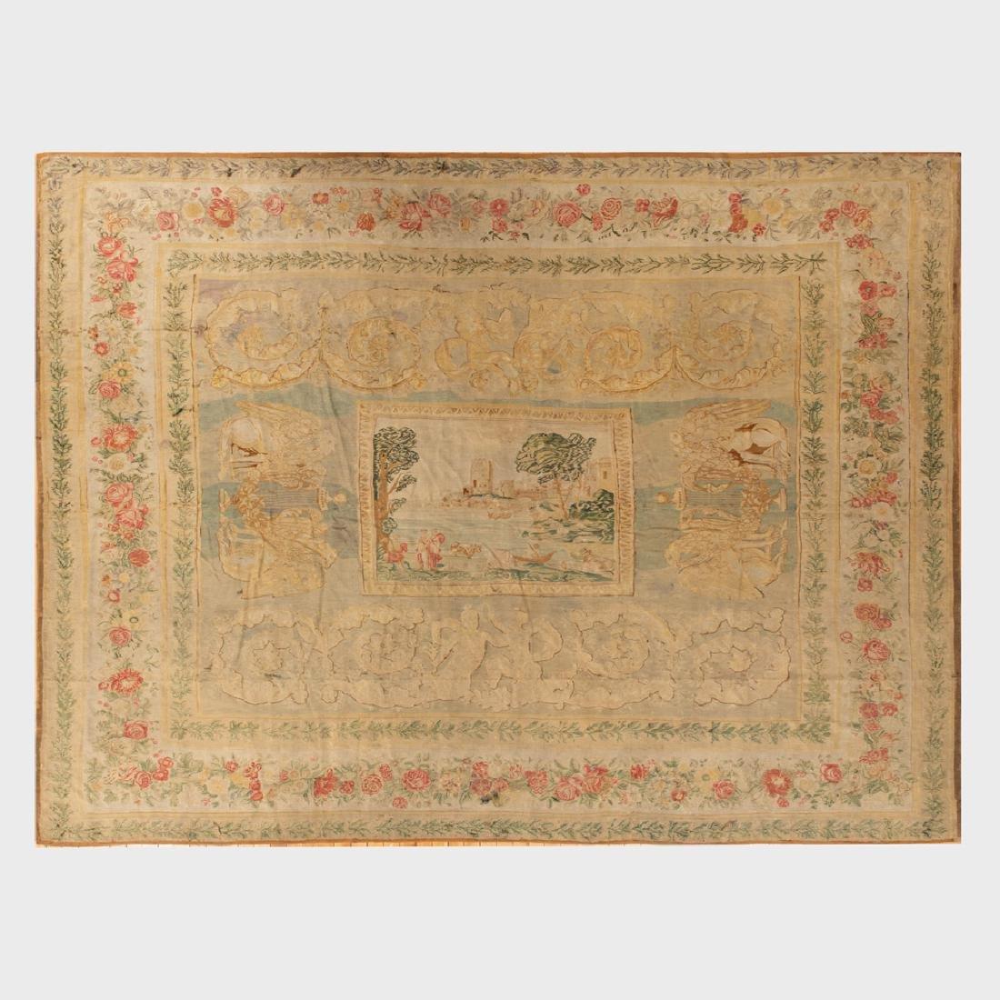 Fine Bessarabian Kilim Carpet