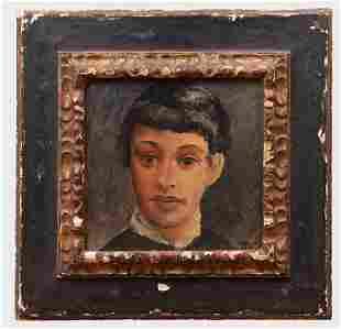 André Derain (1880-1954): Tête de jeune homme