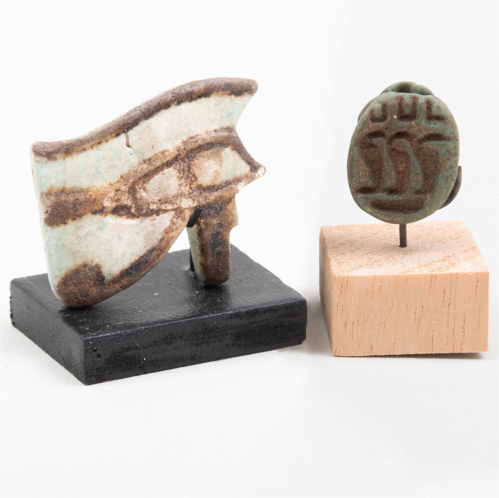 Egyptian Faience Wadjet Amulet