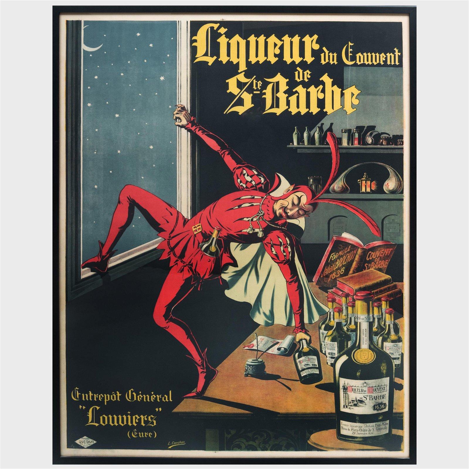 After L. Conchin: Liqueur du Couvent de St. Barbe