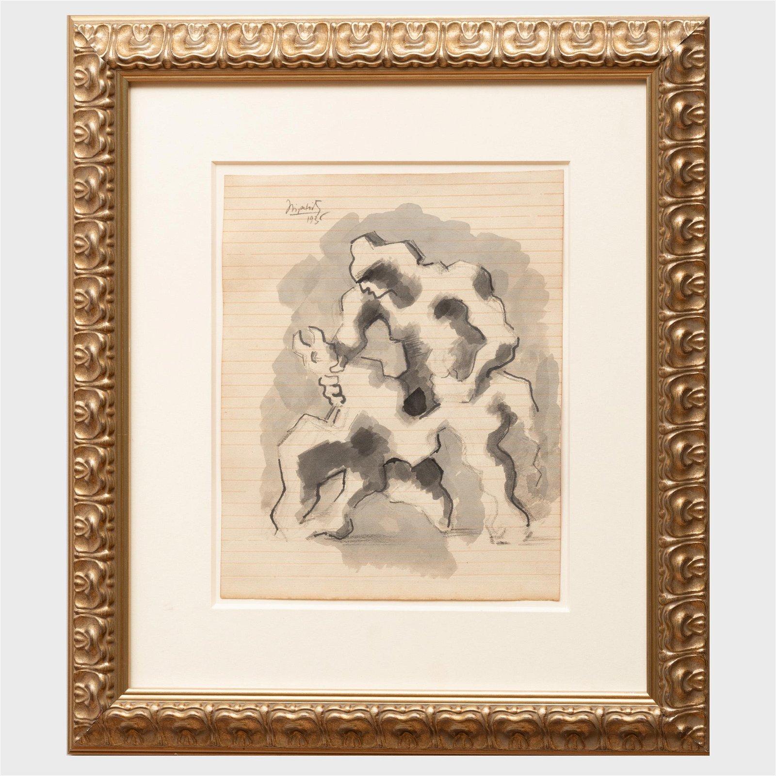 Jacques Lipchitz (1891-1973): Prometheus Strangling the