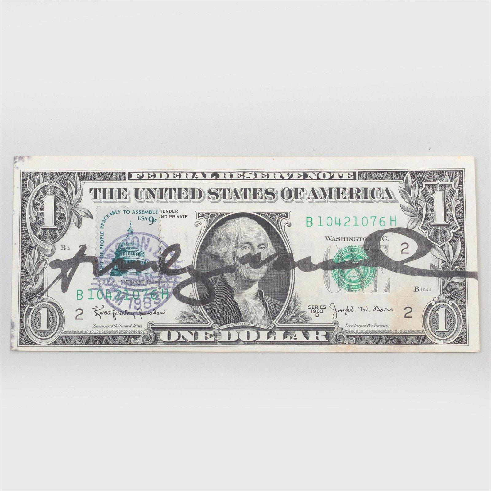 Andy Warhol (1928-1987): Dollar Bill