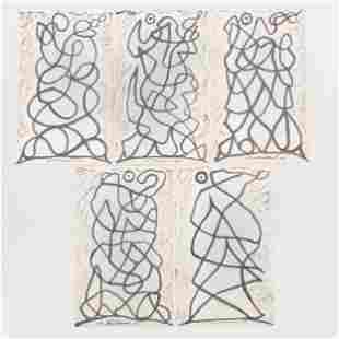 Abraham Walkowitz (1878-1965): Untitled: Five Images