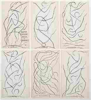 Abraham Walkowitz (1878-1965): Dancer Improvisations: