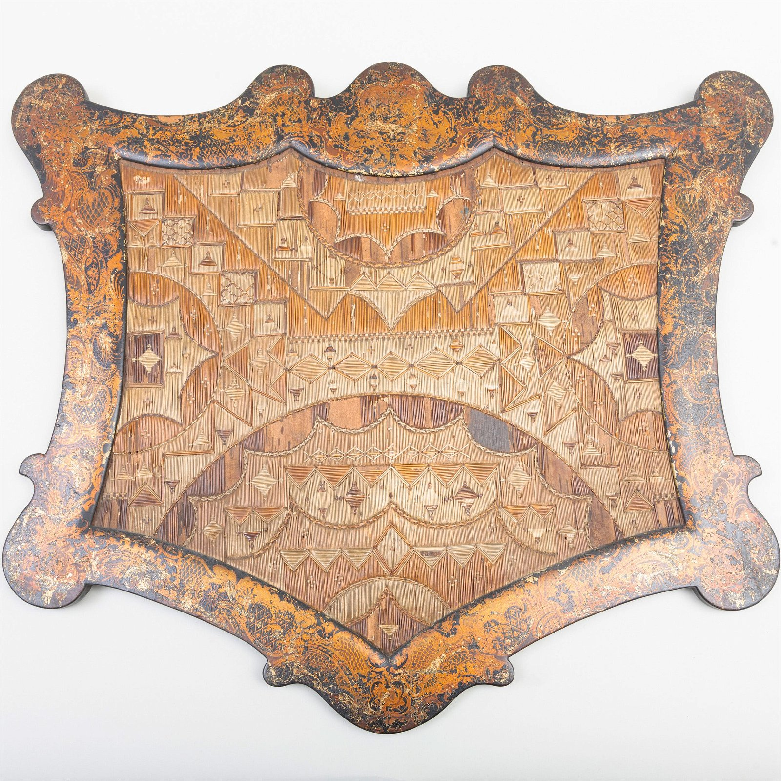 Micmac Quillwork Hanging Panel