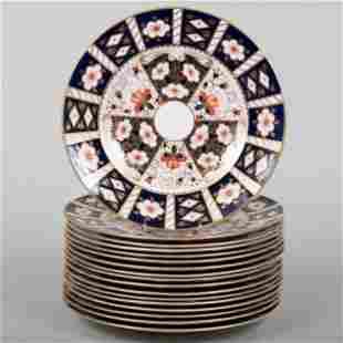 Royal Crown Derby Porcelain Part Dinner Service in the