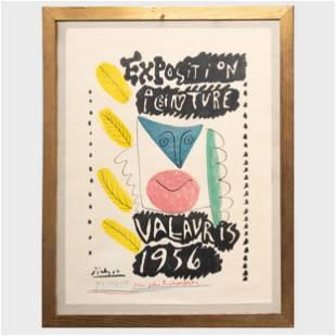 After Pablo Picasso (1881-1973): Exposition Peinture