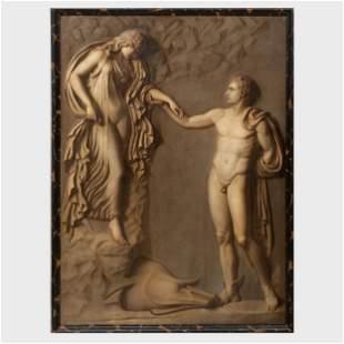 Continental School: Mythological Scenes: A Pair
