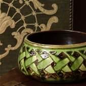 Liberty & Co. Glazed Pottery Bowl