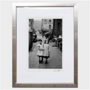 Edouard Boubat (1923-1999): Paris, Maubert