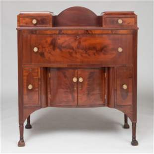 Small Federal Mahogany Sideboard