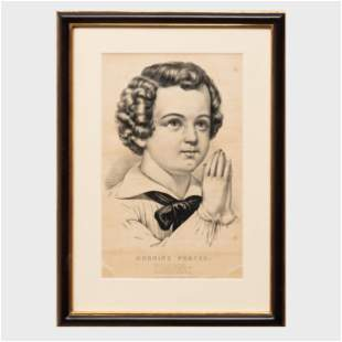 Currier & Ives, Publishers: Morning Prayer; Evening