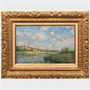 After Alfred Sisley (1839-1899): La Seine à Saint-Cloud