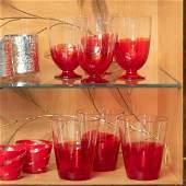 Set of Carlo Moretti Glassware