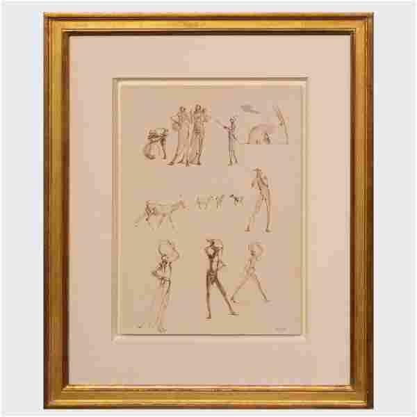 Jonathan Kenworthy (b. 1943): Figure Studies