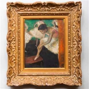 François Gall (1912-1987): Ballerinas: A Pair