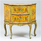 Small Italian Painted Commode