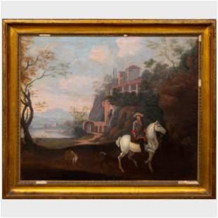 Continental School: On Horseback