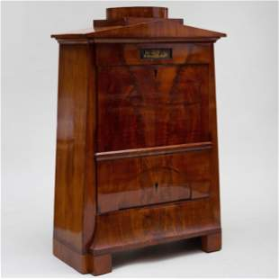 German Biedermeier Gilt-Metal Mounted Mahogany