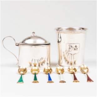 Group of Silver Table Wares