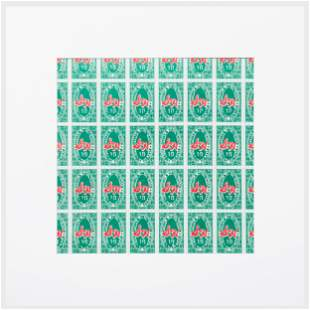 After Andy Warhol (1928-1987): Greenstamps